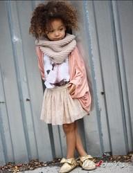 3-летняя модница завоевала социальные сети уникальным стилем!
