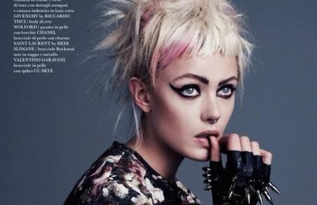 Фрида Густавссон для Flair Magazine Issue 6