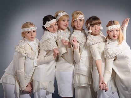 Kharkov Fashion Days: «Белая гризайль» от Марии Ершовой и Марины Кушнир