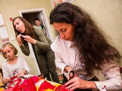 Искусство красоты: Амина Гасем провела мастер-класс для детей