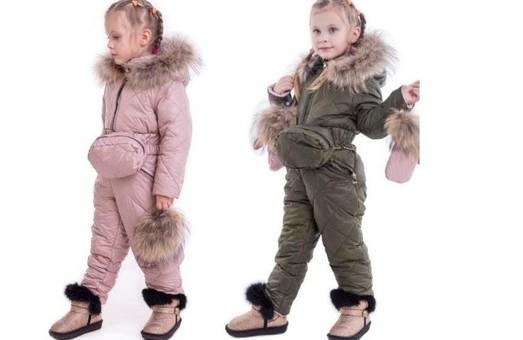 Особенности выбора детского комбинезона на зиму